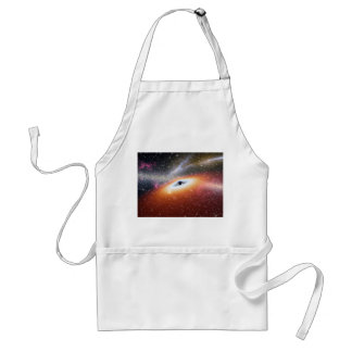 Black Hole at the Center of a Galaxy Adult Apron