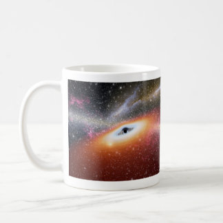 Black Hole at the Center of a Galaxy Coffee Mug