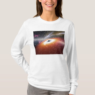 Black Hole at the Center of a Galaxy T-Shirt