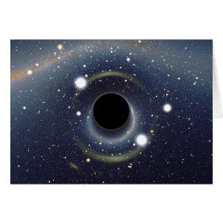 Black Hole Einstein Ring NASA Card