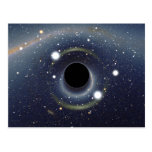 Black Hole Einstein Ring NASA Postcard