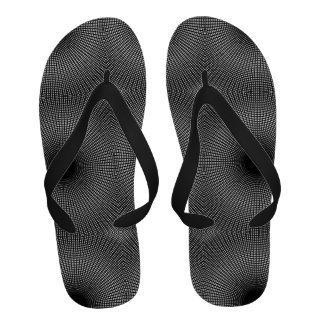 Black Hole Fabric of Space Gravity Graph Math Star Flip Flops