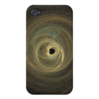 Black Hole Heart iPhone 4 Covers