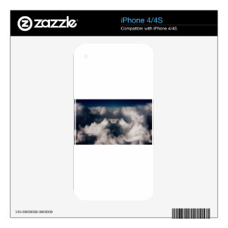 Black Hole In Cloud Skins For The iPhone 4