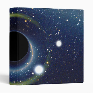 Black hole in front of the Large Magellanic Cloud Binder