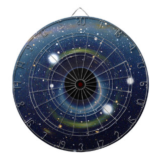 Black hole in front of the Large Magellanic Cloud Dartboard With Darts