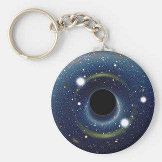 Black hole in front of the Large Magellanic Cloud Keychain