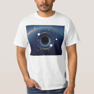 Black hole in front of the Large Magellanic Cloud T-Shirt