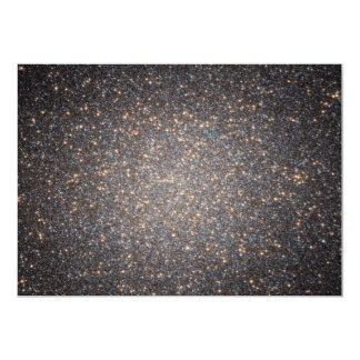 Black Hole in Omega Centauri NGC 5139 from Hubble 5x7 Paper Invitation Card