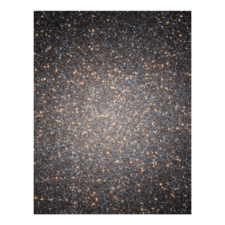 Black Hole in Omega Centauri NGC 5139 from Hubble Customized Letterhead
