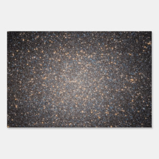 Black Hole in Omega Centauri NGC 5139 from Hubble Yard Signs