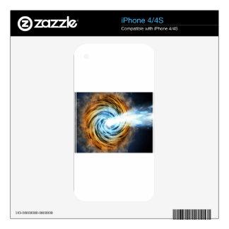 black hole iPhone 4 skin