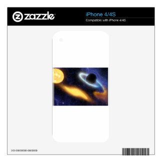 black hole iPhone 4 skins