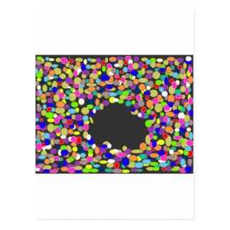 black hole kb 22 the biggest black hole postcard