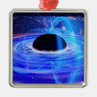 Black Hole Metal Ornament