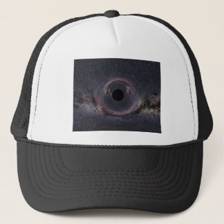 Black Hole Milky Way Trucker Hat