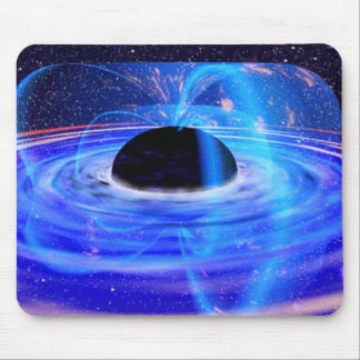 Black Hole Mouse Pad