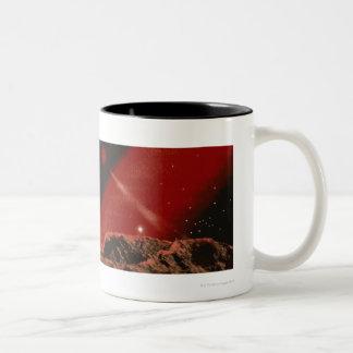 Black Hole Two-Tone Coffee Mug