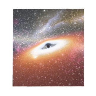 black hole notepad