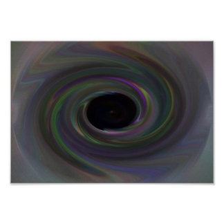 Black Hole Number 3 Poster