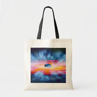 Black Hole Outflows Canvas Bag