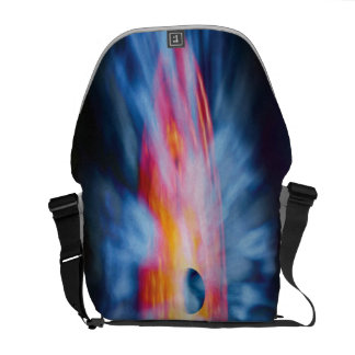 Black Hole Outflows Courier Bag
