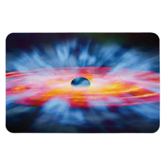 Black Hole Outflows Rectangular Photo Magnet