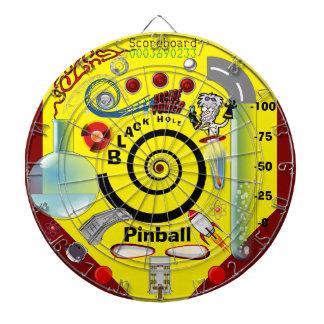 Black Hole Pinball Dartboard! Dartboard With Darts