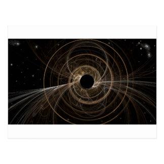 Black Hole Postcard