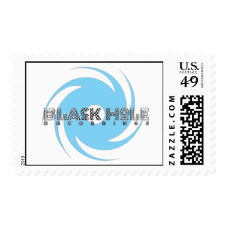 """Black Hole Recordings """"Racing"""" Stamps"""