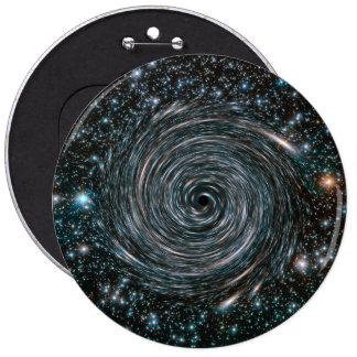 Black Hole Star Cluster Photo Pinback Button