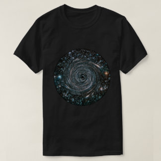 Black Hole Star Cluster Photo T-Shirt