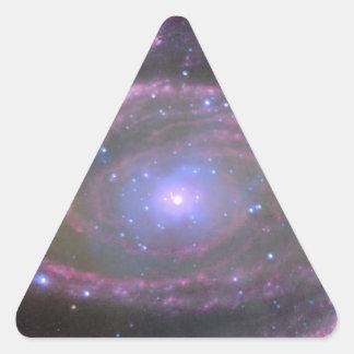 Black hole triangle stickers