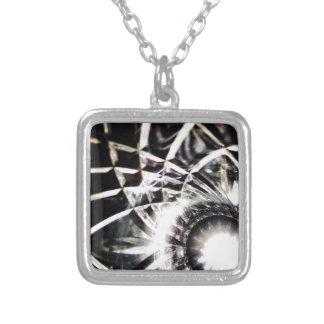 Black hole sun personalized necklace