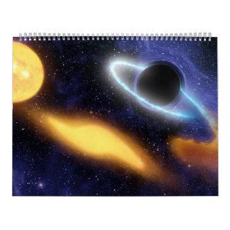 Black Holes In Space by NASA Calendar