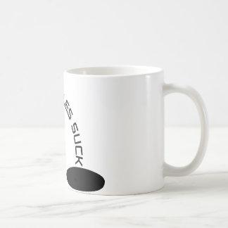 Black Holes Suck Mug
