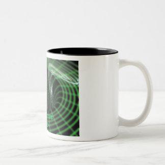 Black holes suck Two-Tone coffee mug