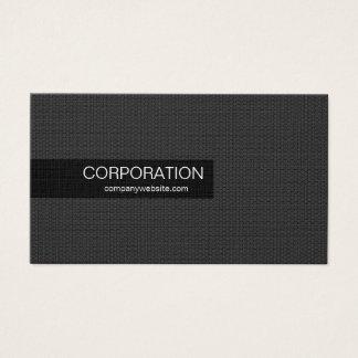 Black honeycomb unique standard business cards