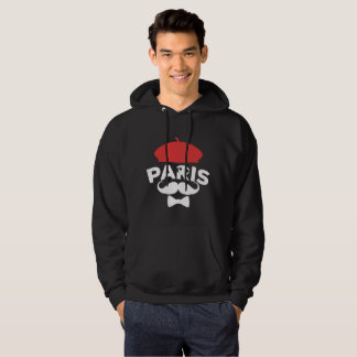 Black Hood sweat shirt Paris Red Beret