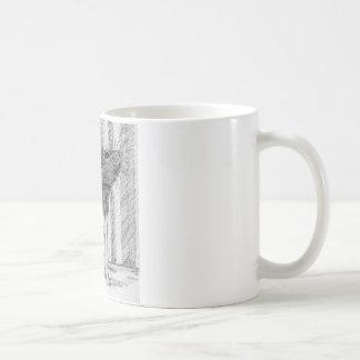 Black Hooded Fancy Rat Coffee Mug