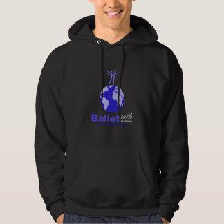 Black Hoodie with Large Logo