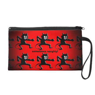 Black Horned Imp, Pointed Tail, sometimes naughty Wristlet