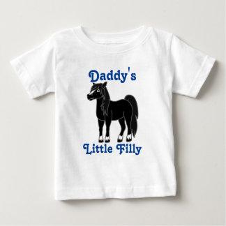 Black Horse Baby T-Shirt