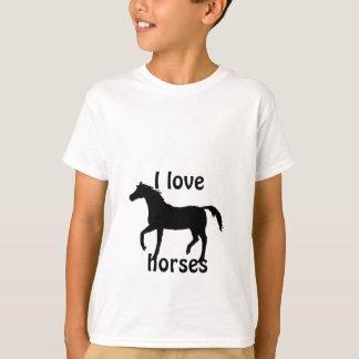 Black Horse childs tshirt