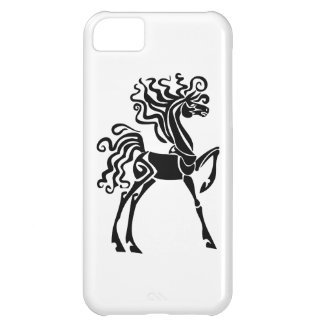 Black Horse Cover For iPhone 5C