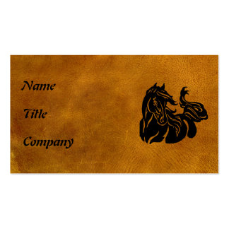Black Horse  Customized Business Card