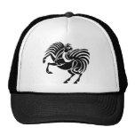 Black Horse Design Trucker Hat