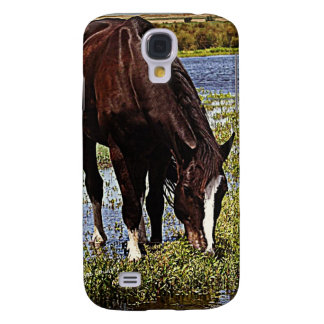 Black Horse Galaxy S4 Cover