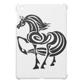 Black Horse iPad Mini Cover