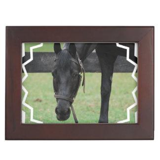 Black Horse Keepsake Boxes